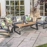 LG Outdoor Roma Aluminium Collection Lounge Set