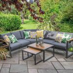 LG Outdoor Roma Aluminium Collection Modular Lounge Set