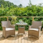 LG Outdoor Saigon 2 Seat Dining Set