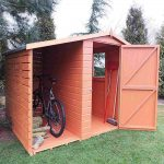 Shire 7 x 6 Shed & Log Store Garden Shed