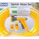 Hozelock Spiral Hose Set (Yellow)