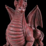 Vivid Arts Large Winged Dragon Red – Size A